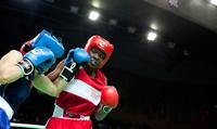Tiara Brown had to fight not only her opponent but a stadium full of Chinese fans cheering after every punch her opponent landed.