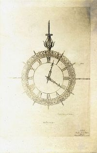 clock drawing