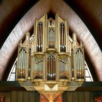 The organ at St. Joseph's Church in Camillus, NY