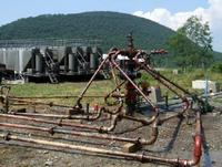 Machine used for hydrofracking