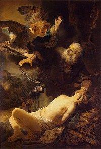 Rembrandt's Sacrifice of Issac