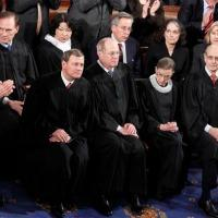 United States Supreme Court Justices at State of the Union