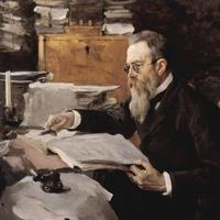 Valentin Serov's 1898 Portrait of Nikolai Rimsky Korsakov (Tretyakov Gallery)