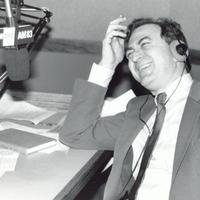 Leonard Lopate laughing