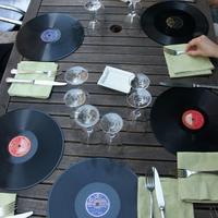 Vinyl is on the menu at L'Autre cote du Lavoir in Saint-Didier, France