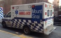 ambulance, mount sinai, mt sinai
