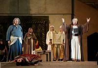 Nabucco (Ambrogio Maestri ) Abigaille (Dimitra Theodossiou) Zaccaria (Raymond Aceto)