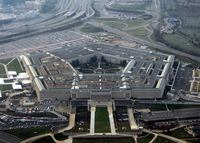 Birds eye view of the Pentagon
