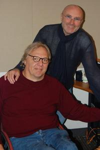Phil Collins with John Hockenberry