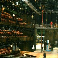 The Royal Shakespeare Company built a replica of their theater inside the Park Avenue Armory, June 30, 2011