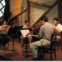 The Shanghai Quartet rehearses at Maverick Concerts