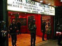 Social Network movie marquee