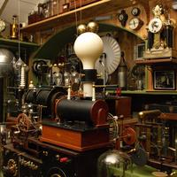 A science lab from Victorian times, recreated in Glaisdale, North Yorkshire.