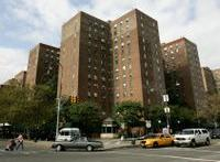 stuy town, buildings, apartments