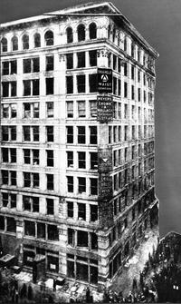 The Asch Building where the Triangle Shirtwaist Factory Fire took place on March 25, 1911.