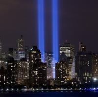 World Trade Center, WTC memorial lights