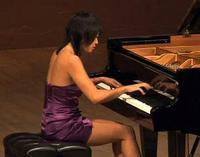 Pianist Yuja Wang at the 2010 Santa Fe Chamber Music Festival
