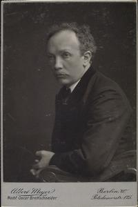 Richard Strauss as a Young Man