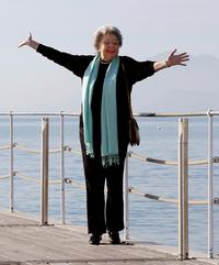 Christa Ludwig poses in Cannes, France in January 2008