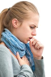coughing girl
