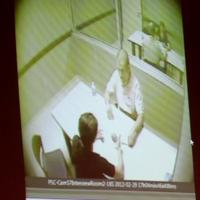 camera image of interrogation room