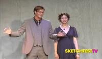 Kurt Braunohler and Kristen Schaal