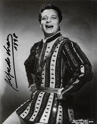 Alfredo Kraus as the Duke in Rigoletto at his Metropolitan Opera debut