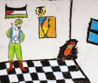 From the art exhbition 'A Child's View From Gaza'