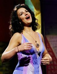Angela Gheorghiu performs during the opening ceremony of the 59th edition of the International Cannes Film Festival