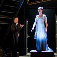 Greg Hicks (Leontes) and Kelly Hunter (Hermione) in the Royal Shakespeare Company's The Winter's Tale