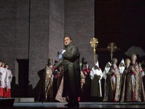 The new production of Tosca