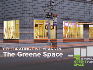 Celebrating Five Years in The Greene Space