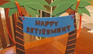 retirement banner