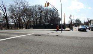 intersection, newark, pedestrian