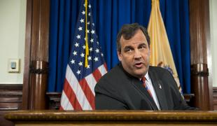 TRENTON, NJ - New Jersey Governor Chris Christie speaks to press on March 28, the day after an internal investigation exonerates him from involvement in Bridgegate.
