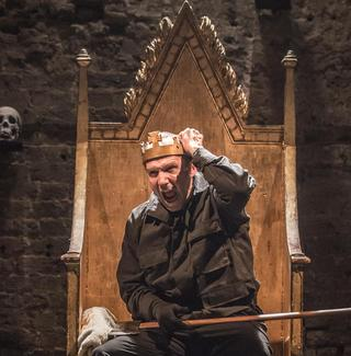Ralph Fiennes stars in 'Richard III' at the Almeida theatre in London.