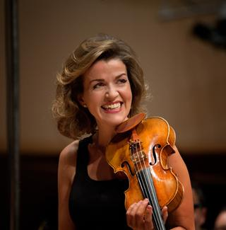 Anne-Sophie Mutter, violinist