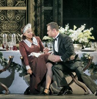 Danielle de Niese as Susanna and Mariusz Kwiecien as the Count in Mozart's 'Le Nozze di Figaro.'