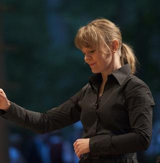Susanna Mälkki led the Chicago Symphony Orchestra at the Ravinia Festival in July
