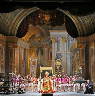The Act I finale of 'Tosca' at San Francisco Opera