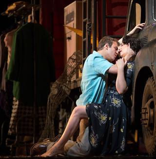 Alexey Lavrov and Barbara Frittoli star in 'Pagliacci.'