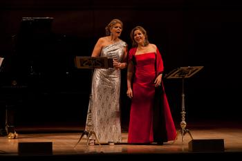 Susan Graham and Renée Fleming