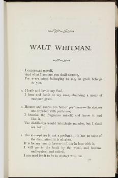 Walt Whitman Poems Walt Whitman 2020 02 03