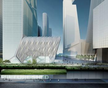 Diller Scofidio + Renfro and the Rockwell Group's design for their Culture Shed