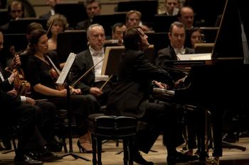 Daniil Trifanov performs with the Mariinsky Orchestra at Carnegie Hall.