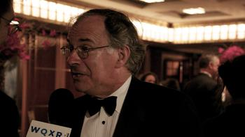 Clive Gillinson, executive and artistic director of Carnegie Hall, at at season opener gala.