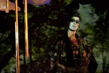 Flutist Margaret Lancaster in 'Kocho'