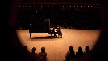 Pianist Lang Lang in a sold-out recital at Carnegie Hall on May 29, 2012.