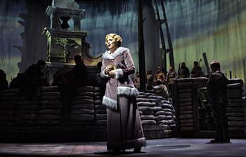 Karin Wolverton as Anna Sørensen in the Minnesota Opera production of Silent Night