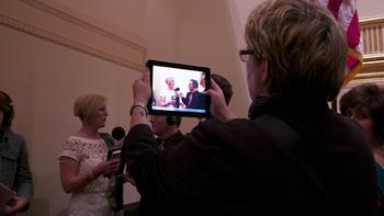 The Nashville Symphony's been thoroughly documenting its trip to Carnegie Hall.